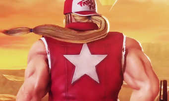 Fighting EX Layer : trailer de gameplay de Terry Bogard