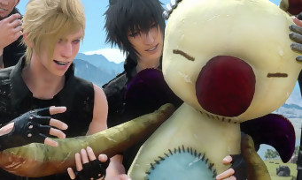 Final Fantasy XV : trailer de gameplay avec les Moogles