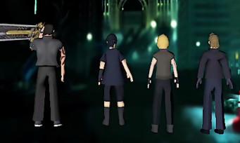 Si Final Fantasy XV avait été un jeu PSone, la vidéo old school !