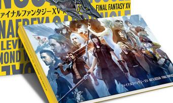 """Final Fantasy XV : les images de l'artbook """"Art & Design"""" de Cook & Becker"""