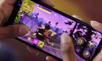 Fortnite : un premier trailer de gameplay sur iOS et Android