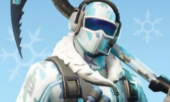 Fortnite : le pack froid éternel arrive en magasins  !