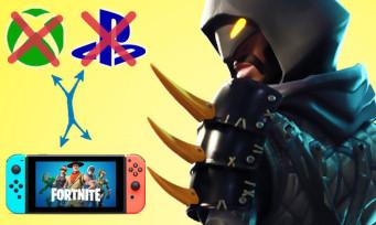 Fortnite : la version Switch n'est plus cross-play avec la PS4 et la Xbox One