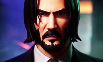 Fortnite : un trailer bien badass pour présenter John Wick