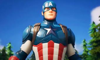 Fortnite : un trailer pour l'arrivée de Captain America dans le jeu