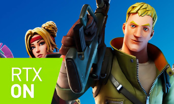 Fortnite : un trailer pour l'arrivée du RTX et du DLSS de Nvidia