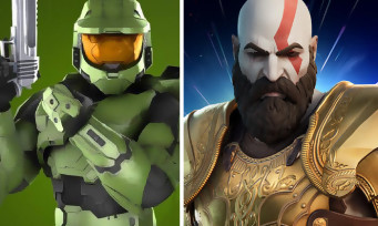 Fortnite : Kratos de God of War et le Master Chief de Halo bientôt dans le jeu !