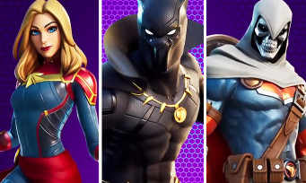 Fortnite : Black Panther, Captain Marvel et Taskmaster, toutes les danses WTF
