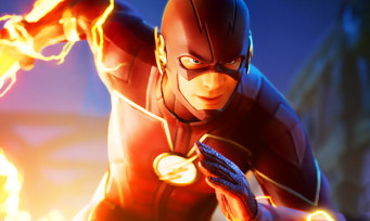 Fortnite : Flash de DC dans le jeu, du gameplay rigolo