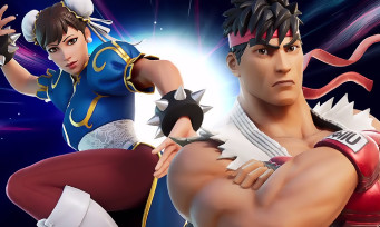 Fortnite : Ryu et Chun-Li de Street Fighter débarquent, le trailer officiel