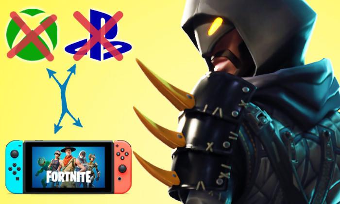 fortnite la version switch n est plus cross play avec la ps4 et la xbox one - comment mettre fortnite sur switch