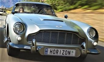 Forza Horizon 4 : les gadgets des voitures James Bond présents !