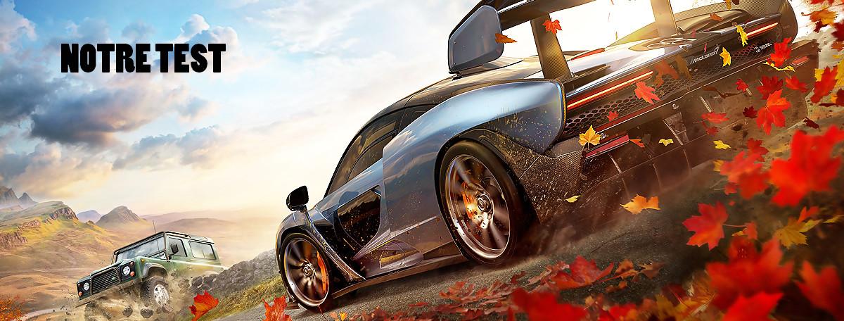 Test Forza Horizon 4 : l'élégance à l'anglaise (PC, Xbox One X)