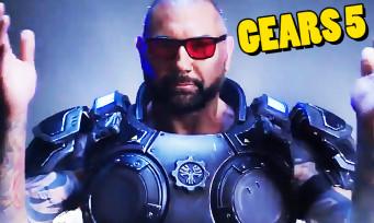 Gears 5 : le catcheur Bautista se rend jouable, première vidéo badass