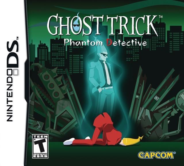Jaquettes ghost trick d tective fant me - Ghost fantome ...