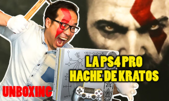 GOD OF WAR : notre unboxing de la PS4 Pro en forme de hache