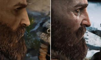 GOD OF WAR : comparatif entre la démo de l'E3 2016 et la version finale