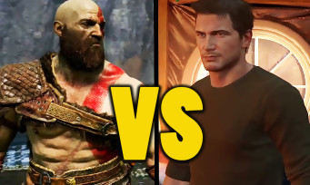 GOD OF WAR vs Uncharted 4 : qui est le plus beau jeu PS4 ? Comparatif