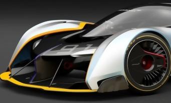 Gran Turismo Sport : la McLaren Ultimate Vision en vidéo