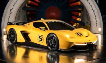 Gran Turismo Sport : trailer de la EF7 Fittipaldi de Pininfarina