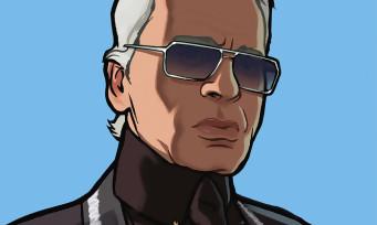 GTA 4 : Rockstar Games rend hommage à Karl Lagerfeld