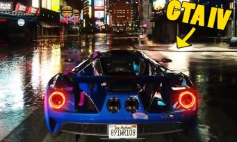 GTA 4 : Liberty City sublimée grâce à un mod ajoutant du ray-tracing