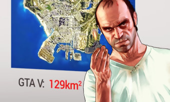 Une vidéo compare les plus grandes maps du jeu vidéo, impressionnant !