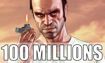 GTA 5 pèse désormais 100 millions de jeux distribués dans le monde