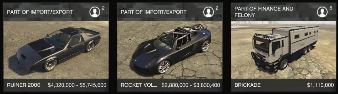 Gta Online On A Joue A Import Export Voici Les Nouveautes