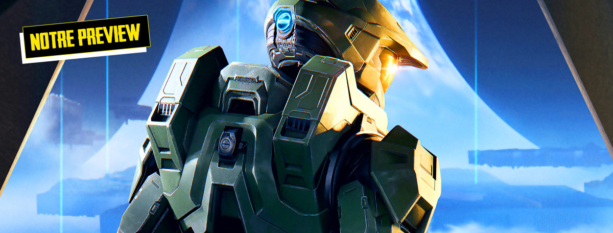 Halo Infinite : on a pu approcher le jeu, faut-il vraiment s'inquiéter ? Preview