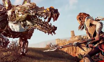 Horizon Zero Dawn : 8 min de gameplay pur sur PS4 Pro