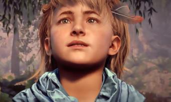 Horizon Zero Dawn : trailer de gameplay d'Aloy enfant