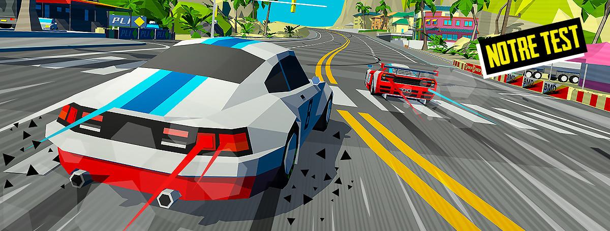 Test Hotshot Racing : le digne héritier des jeux de course arcade d'antan ?