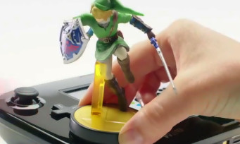 Hyrule Warriors : trailer amiibo Link