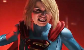 Injustice 2 : Supergirl fracasse Wonder Woman gameplay trailer