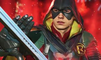 Injustice 2 : trailer de gameplay de Robin et d'Atrocitus