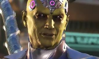 Injustice 2 : une vidéo qui montre toutes les attaques de Brainiac