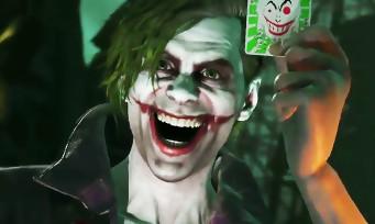 Injustice 2 : trailer du Joker avec son nouveau look de psychopathe