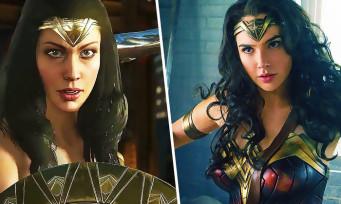 Injustice 2 : trailer de gameplay du costume du film Wonder Woman