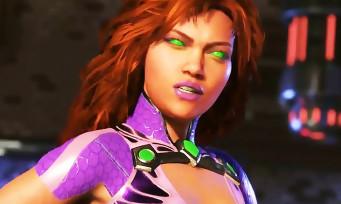 Injustice 2 : trailer de gameplay de Starfire
