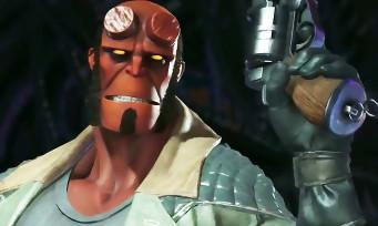 Injustice 2 : trailer de gameplay de Hellboy