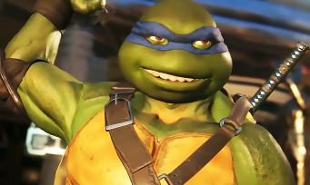 Injustice 2 : trailer de gameplay avec les Tortues Ninja