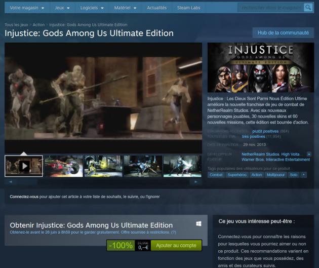 Injustice Les Dieux sont parmi nous : Ultimate Edition