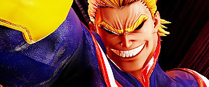 Jump Force : All Might (My Hero Academia) met des patates de forain