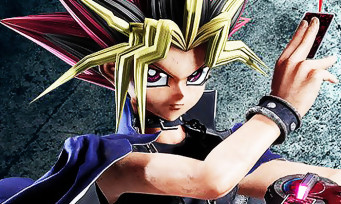 Jump Force : Yugi de Yu-Gi-Oh! joue cartes sur table avec du gameplay !