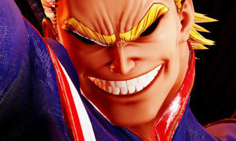 Jump Force : des images sans pitié d'All Might (My Hero Academia)