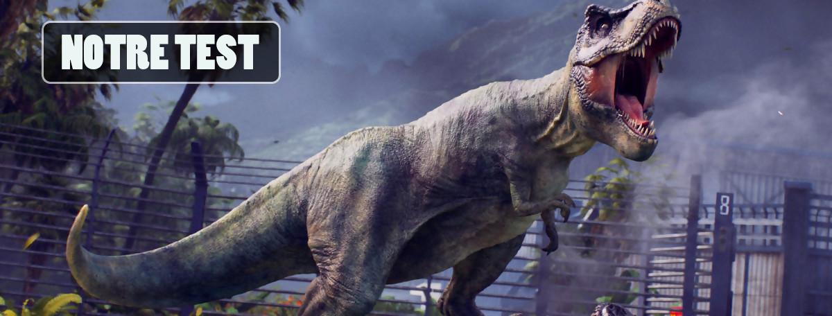 Test Jurassic World Evolution : tout l'inverse du (mauvais) film au cinéma