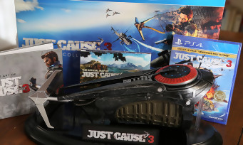 Just Cause 3 : unboxing du collector avec le grappin de Rico !