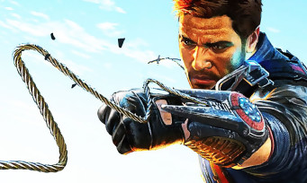Just Cause 4 : Rico se propulse dans un trailer bourré d'explosions !