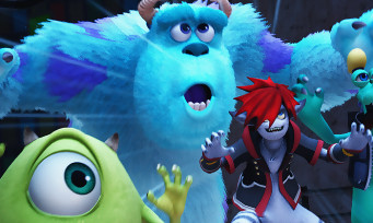 Kingdom Hearts 3 : un trailer de gameplay du monde Monstres et Cie